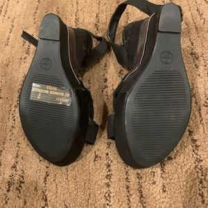 BAMBOO Shoes - NEW* Never Worn Bamboo Wedge Heels